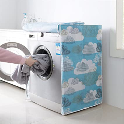 Exceptionnel 1PC Dust Proof Roller Washing Machine Front Covers Waterproof Washer/Dryer  Cover Protective Dust Storage