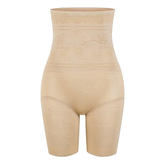 e4b80e52d82f0 KSKshape Women Tummy Control Body Shaper Thigh Slimming Breathable Shapewear  Beige
