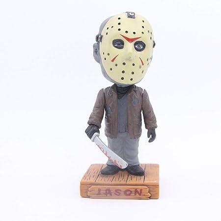 6pc Nightmare Before Christmas Barrel Jack Bobble Head PVC Figure Model Toy gift