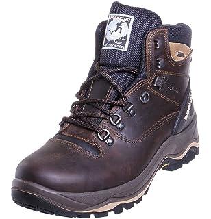 b77d2f767b71 Grisport Mens Hawk Waterproof Leather Walking Boots Brown  Amazon.co ...