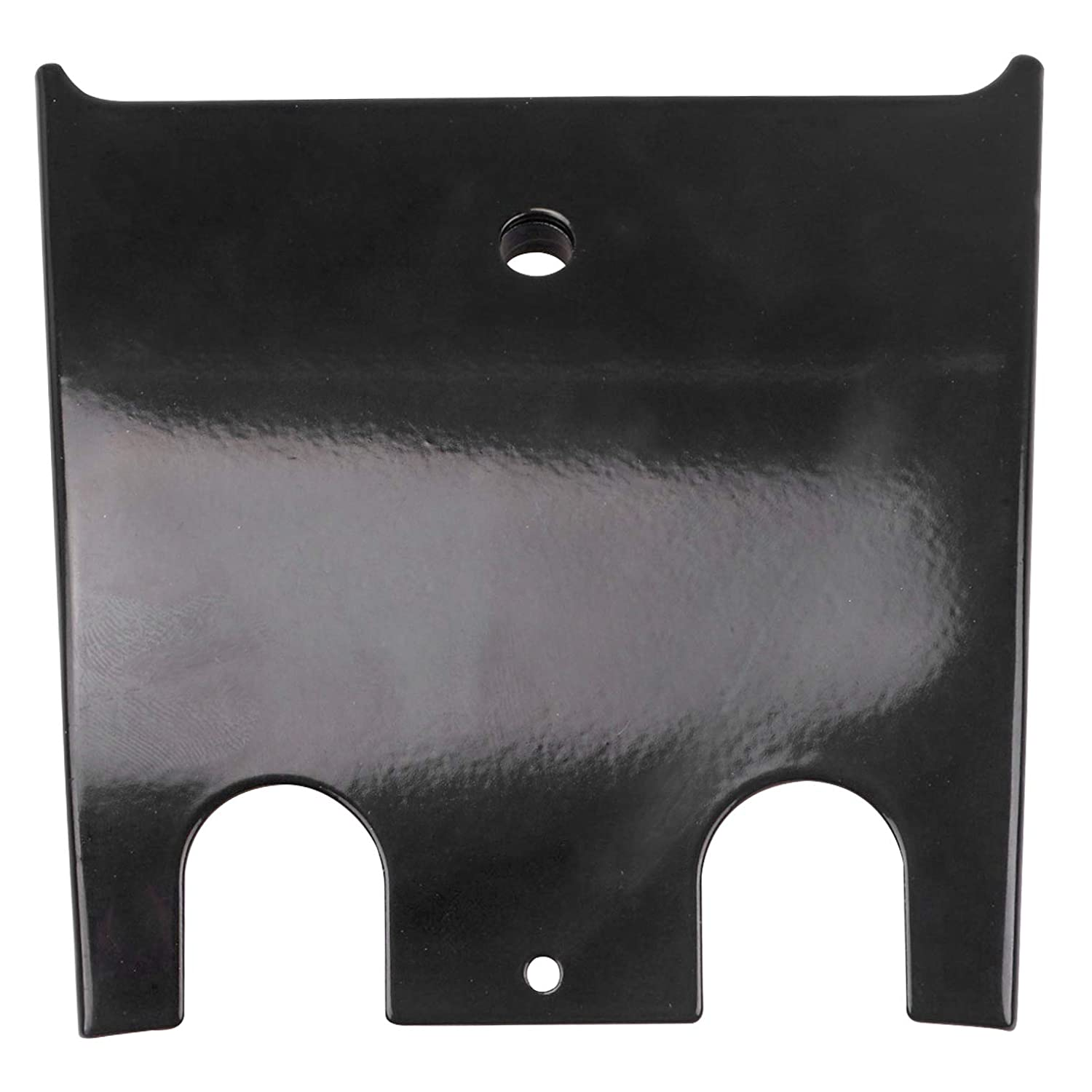 Black Lower Dash Panel Extension For 1989-2007 Harley Touring Bagger