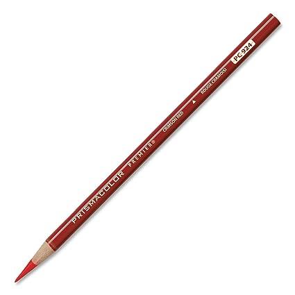 amazon com prismacolor premier soft core colored pencil crimson