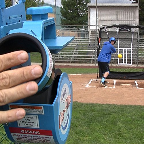 JUGS Lite-Flite Machine for Baseball and Softball