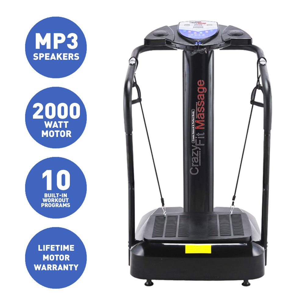 Bluefin Fitness Upgraded 2017 Vibration Plate