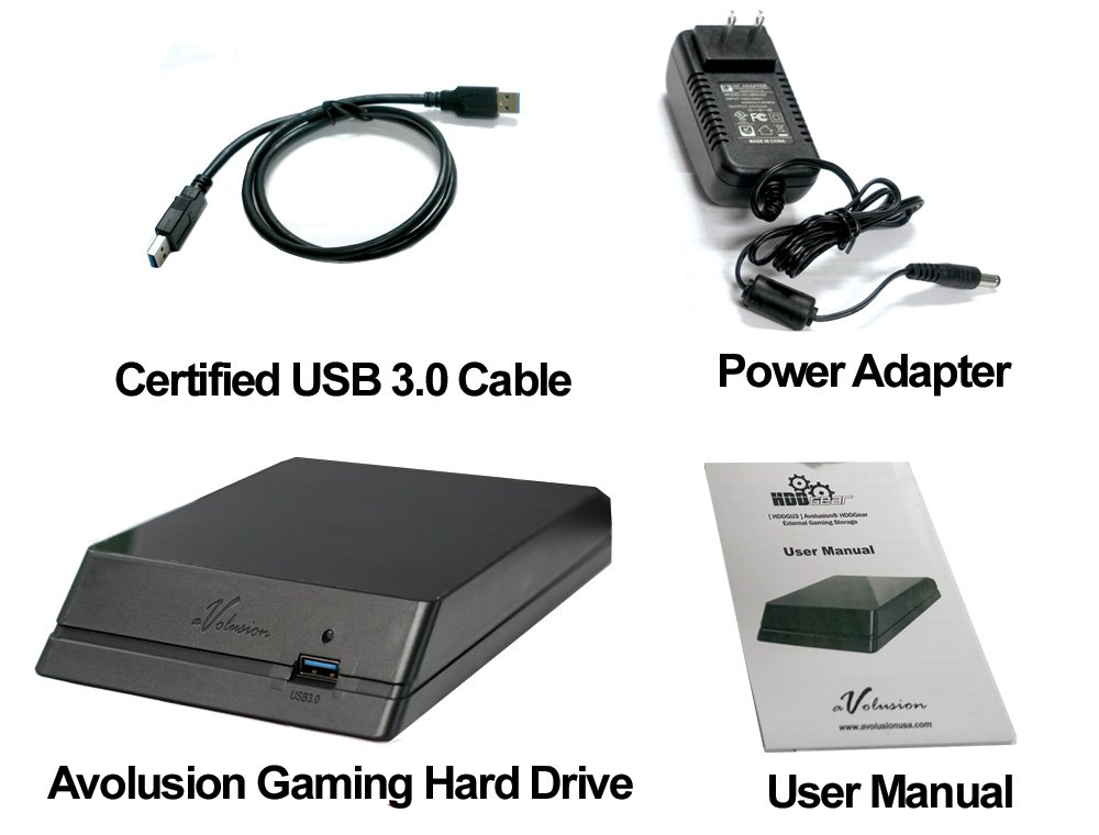 Avolusion HDDGear 2TB (2000GB) USB 3.0 External XBOX Gaming Hard Drive (XBOX Pre-Formatted) - XBOX ONE, XBOX ONE S, XBOX ONE X - 2 Year Warranty by Avolusion (Image #4)