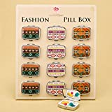 72 Stylish Aztec Pill Box