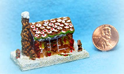 Amazon.com: Dollhouse KL1230 - Casa de Navidad de invierno ...