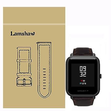 Amazon.com: Para Xiaomi amazfit bip Band, lamshaw Milanese ...