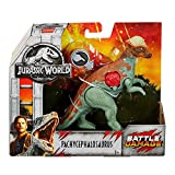"JWFK Jurassic World Fallen Kingdom Pachycephalosaurus Dinosaur Posable Figure 6"" Battle Damaged"
