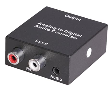 Amazon.com: Tbridge Analog (3.5mm and R/L)  Audio to Digital (Coaxial or Toslink)  Audio Converter Adapter: Computers & Accessories