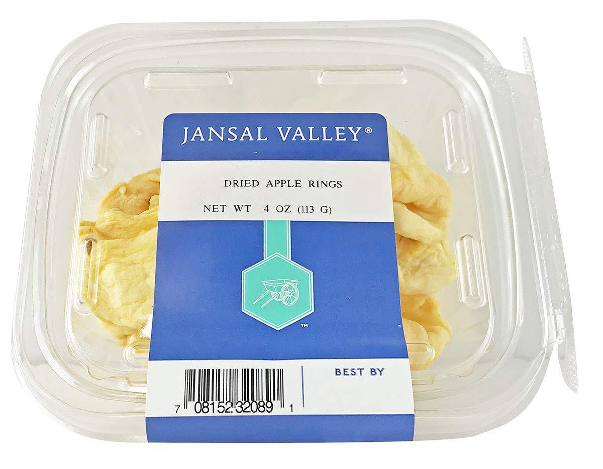 Jansal Valley Dried Apple Rings, 4 oz