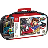 Nintendo Switch Super Mario Odyssey Carrying Case – Protective Deluxe Travel Case – PU Leather Exterior – Official…