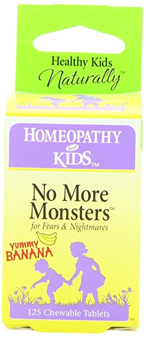 Amazon.com: Herbs for Kids No More Monsters, Chewable Tablets, 125 ...