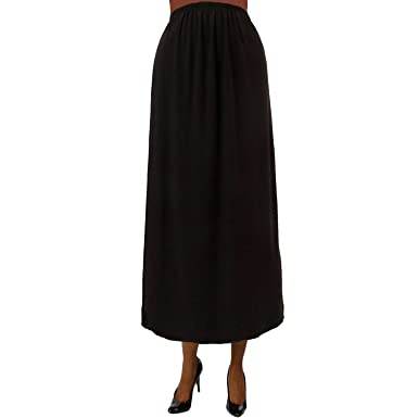 many fashionable Sales promotion promotion A Personal Touch Black Pull On Maxi Skirt at Amazon Women's ...