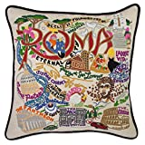 ROMA HAND EMBROIDERED PILLOW - CATSTUDIO