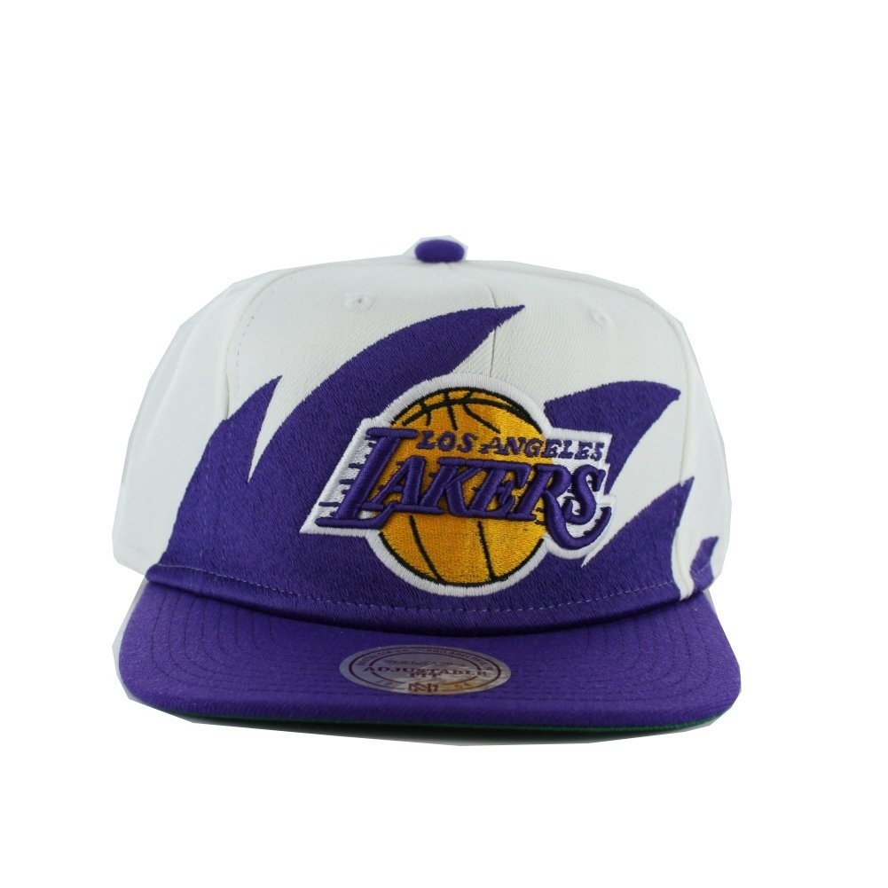 Mitchell & Ness Los Angeles Lakers - Gorra eu020 - White: Amazon ...
