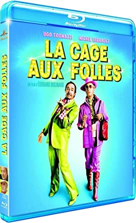 La Cage aux folles [Italia] [Blu-ray]: Amazon.es: Michel Serrault ...