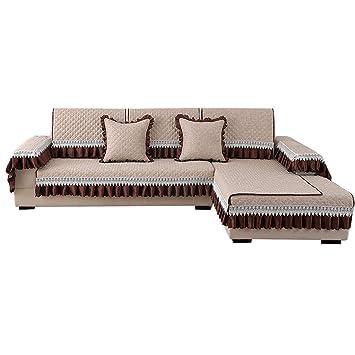 Zxue Europaische Einfache Sofa Kissen Stoff Rutschfeste Sofa