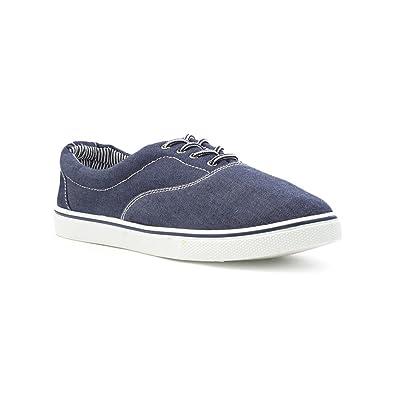 f811676e363 Red Fish Mens Denim Blue Lace Up Canvas Shoe  Amazon.co.uk  Shoes   Bags