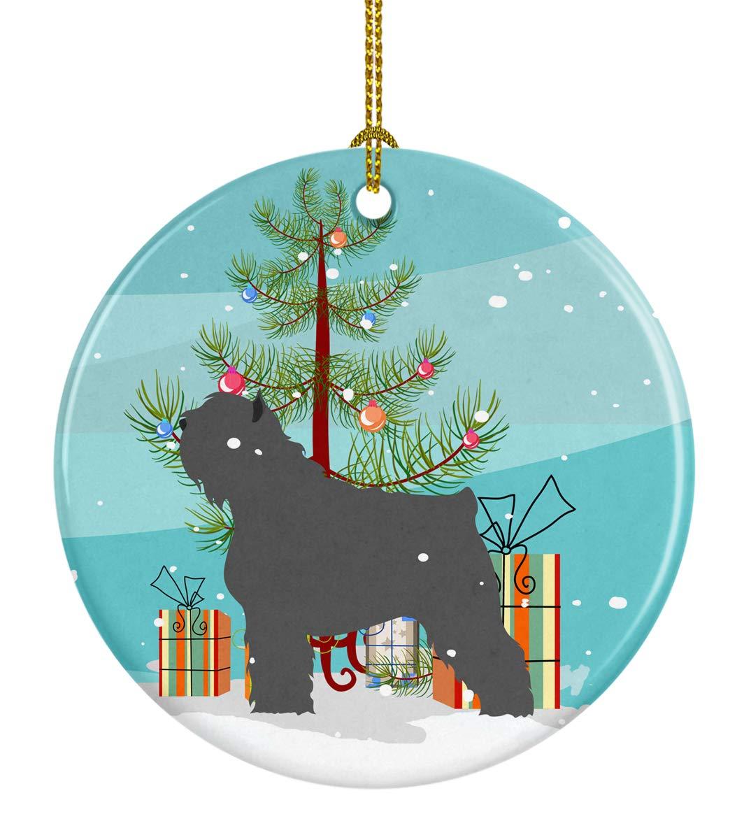 Bouvier Des Flanders Christmas Tree Ornaments