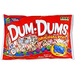 DUM DUMS Lollipops, 300 Count Bag
