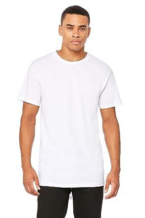 5360b84618 Bella Long Body Urban t-Shirt White L