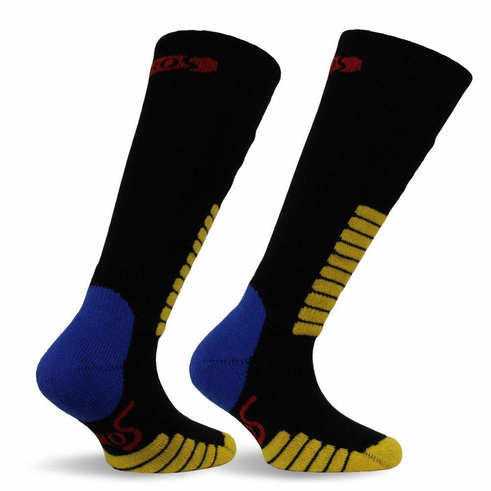 Eurosocks Jr. Ski Supreme Socks, Black, XXX-Small