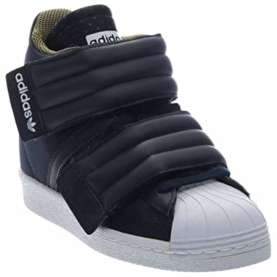 2459f4b0cbdcc Amazon.com | adidas Originals Womens Superstar Up Two-Strap Shoes ...
