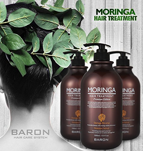 Amazon.com: [BARON] MORINGA Hair Treatment Repairing