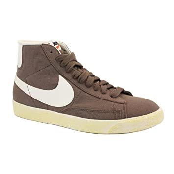 74110aebfa ... low price nike blazer vintage canvas canvas shoes men brown beige  mushromm 0b39b 73fc3
