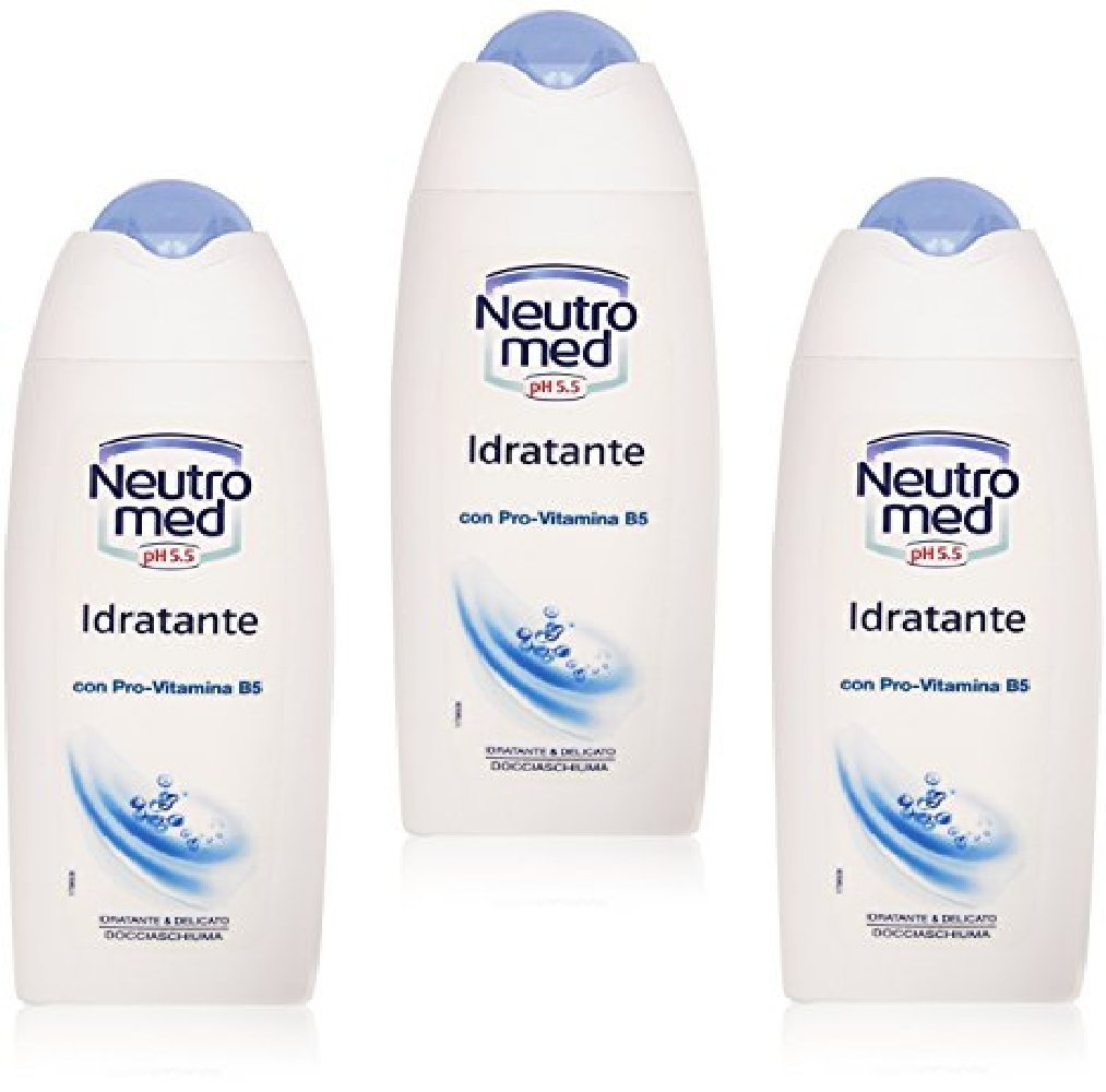 Neutromed :Shower Moisturizing Bath Foam 250ml / 8.45oz (pack of 3): Amazon.com: Grocery & Gourmet Food