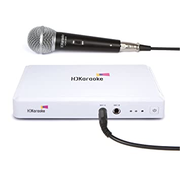HDK Box 2 0 Smart Home Karaoke Machine One Mic Version Supports Recording  and iPad/iPhone/Android Apps Control with 10 Free Songs