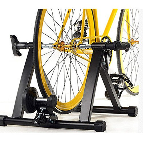 Brown Sugar Magnetic Exercise Bike Bicycle Trainer Stand Resistance Stationary Indoor image