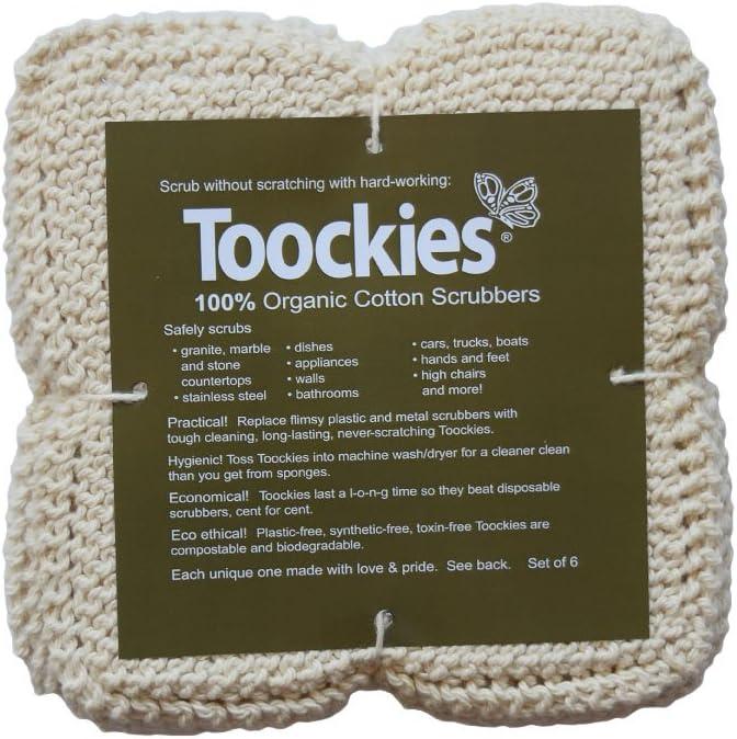 Toockies cotton scrubbers