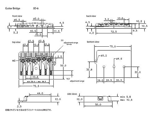 Amazon Schaller Flatmount Bridge 3d 6 With Adjustable Height