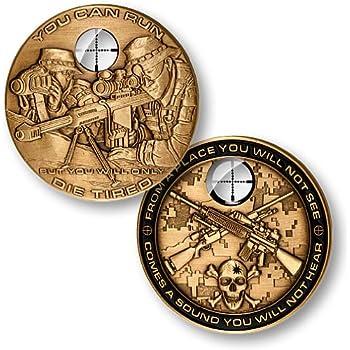 Sniper Challenge Coin