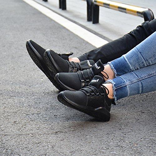 43 Up Weiß Dämpfung und Schuhe Atmungsaktives soulsfeng Schuhe Spray Sportschuhe Schuhe Schuhe Schwarz Gewebe Sportschuhe Herren Mesh Damen Faule Lace q88CwHA