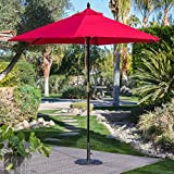 Belham Living 7.5 ft Sunbrella Commercial Grade Aluminum Wind Resistant Patio Umbrella