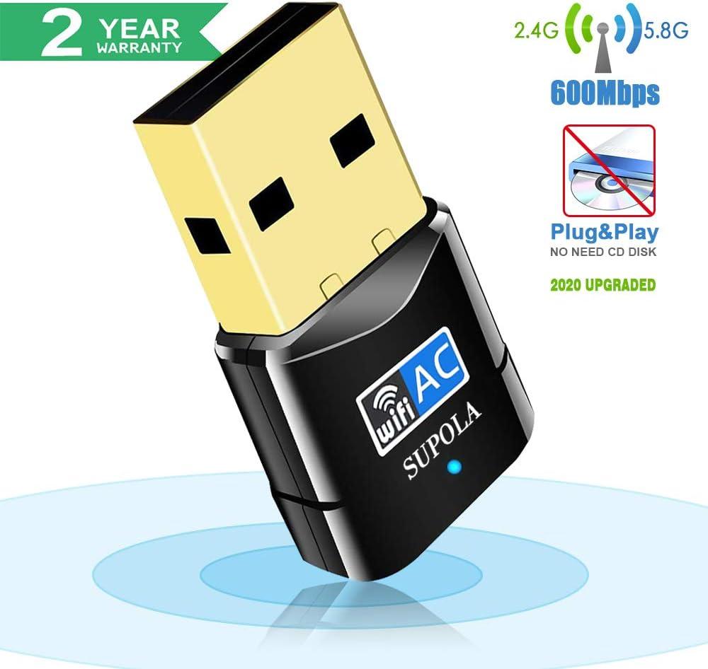 Adaptador Conexión USB dual band 5G