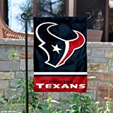 Houston Texans Double Sided Garden Flag
