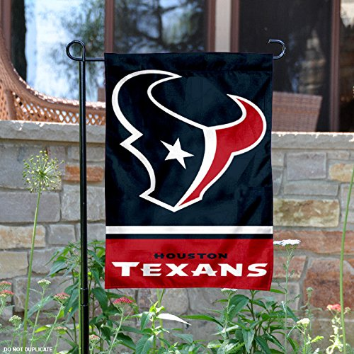 Houston Texans Double Sided Garden Flag (Houston Texans Flag)