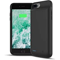 Funda Batería para iPhone 8 Plus / 7 Plus / 6 Plus / 6S Plus, Joly Joy Cargador Portatil 8000mAh Externa Batería Recargable iPhone 8p / 7p Battery Case para Apple iPhone 6s plus / 6 plus (5.5 pulgadas)