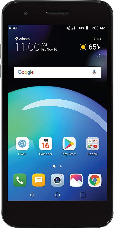 LG Phoenix 4 AT&T Smartphone prepago con 16 GB, 4G LTE, Android ...