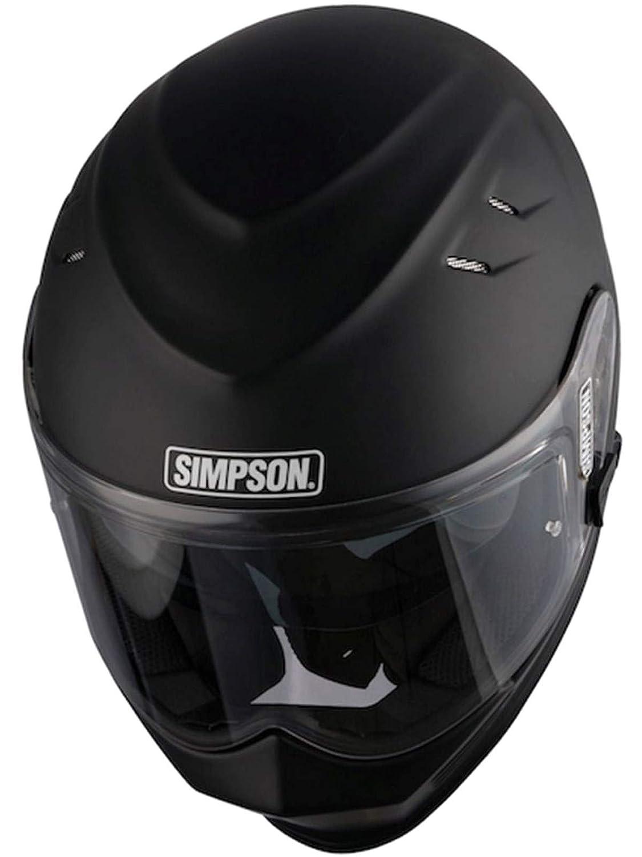Noir mat Simpsons Venom casque Taille XS