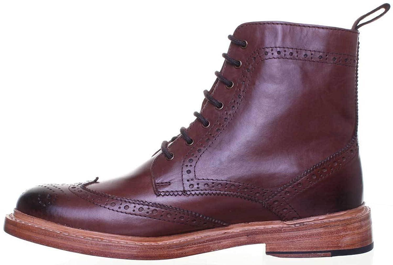 Justin Reece 6900, Chaussures de Ville à Lacets pour Femme - Marron - Marron,