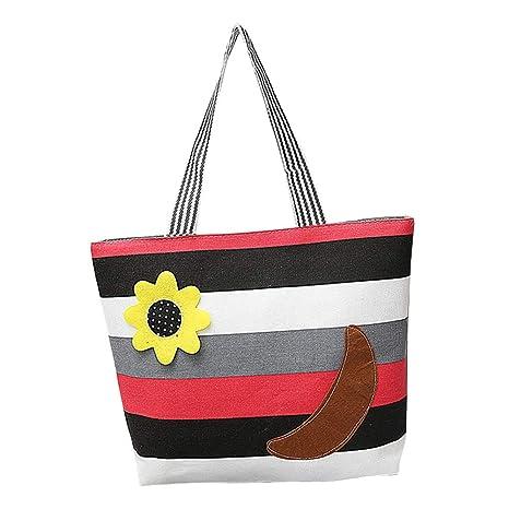 Mackur - Bolsa de la Compra con diseño de Flores, Tela ...
