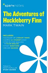 The Adventures of Huckleberry Finn SparkNotes Literature Guide Paperback