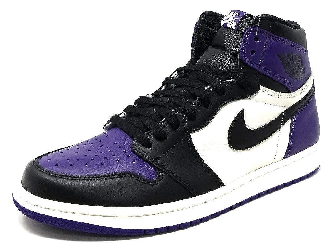 finest selection abd06 6de1c Amazon.com | Air Jordan 1 Retro High OG 555088 (12, Court ...