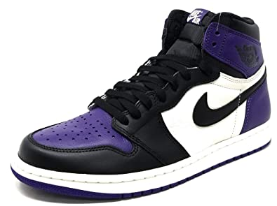 cd2f6129ac5 Image Unavailable. Image not available for. Color: Air Jordan 1 Retro High  OG 555088 (12, Court Purple)