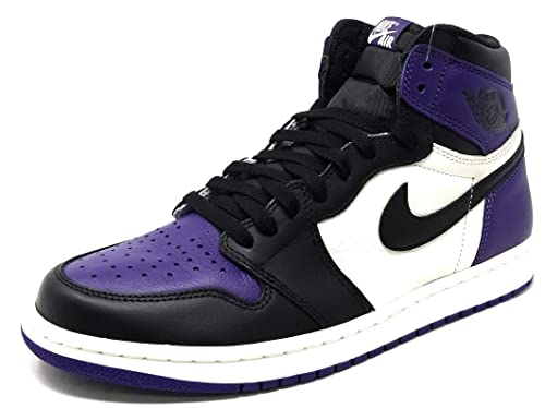 1f855cd9853 Nike Men's Air Jordan 1 Retro OG High Court Purple: Amazon.ca: Shoes &  Handbags